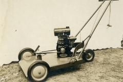 Domer's lawnmower