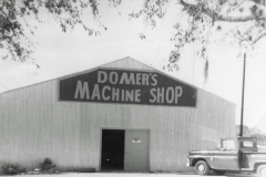 Domer's shop in the 1960s